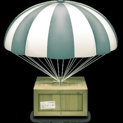 parachutte-straight